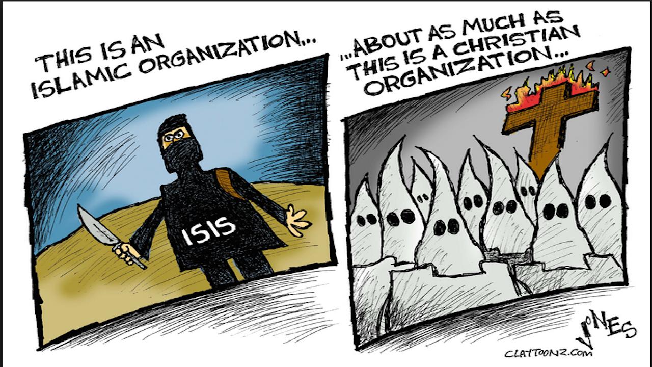 Violent fundamentalism Banner