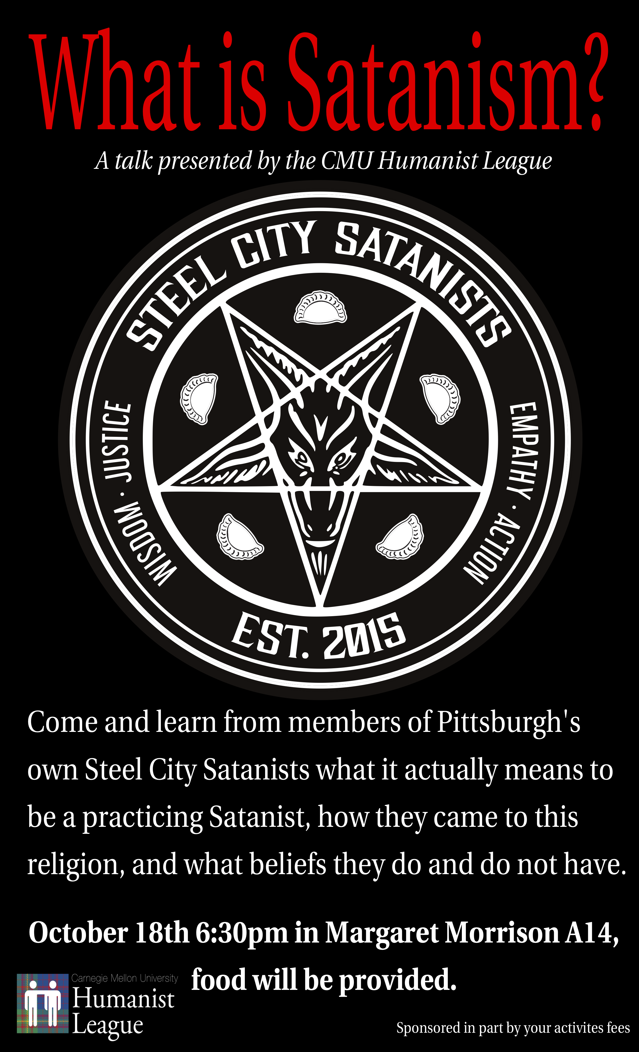 Steel City Satanists – What is Satanism? Poster