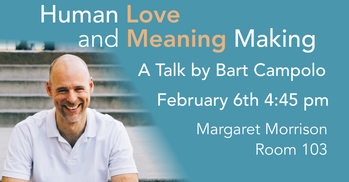 Bart Campolo – Human Love and Meaning Making Banner