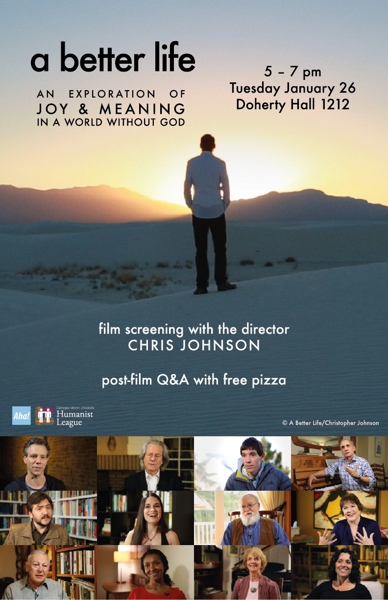 Film Screening! – A Better Life with director Chris Johnson Poster