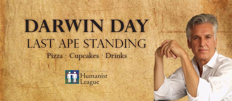Darwin Day, featuring Chip Walter Banner