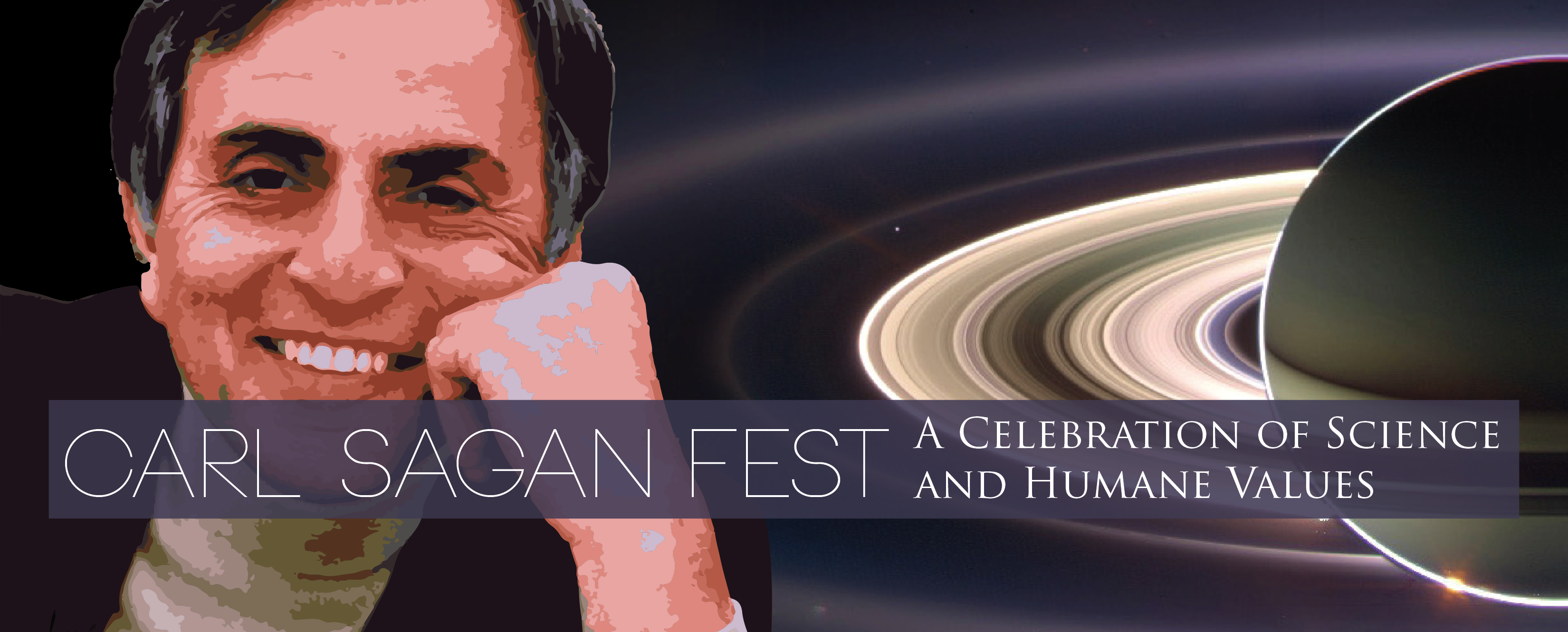 Carl Sagan Fest – Carl Sagan and The Way of Science Banner