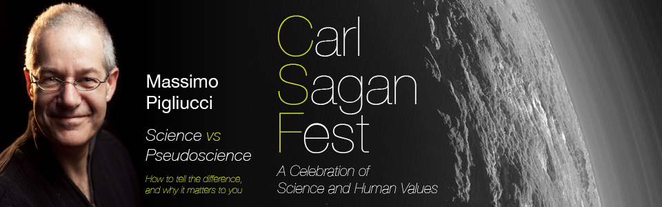 Carl Sagan Fest – Science vs. Pseudoscience Banner