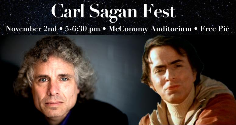 Carl Sagan Fest, featuring Steven Pinker Banner