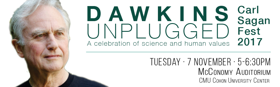 Carl Sagan Fest, featuring Richard Dawkins Banner